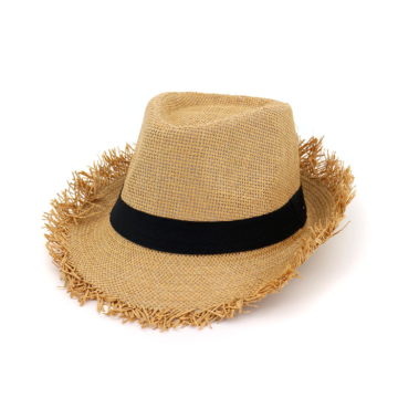 Foldable Wide Brim Beach Straw Hat with Bowknot