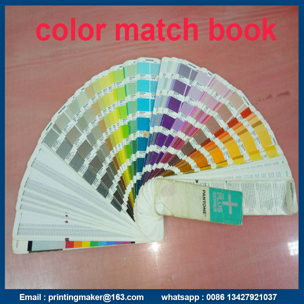 color match book