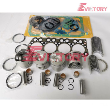 excavator 4DQ5 engine gasket bearing piston ring liner