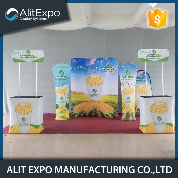 3x3/3x6 Promotion aluminum truss trade show display booth