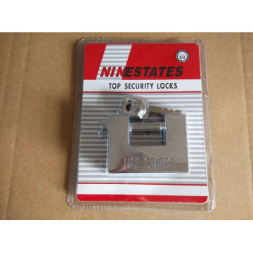 China for Rectangular Security Padlock 60 MM High Quality Rectangle Padlock Safe Lock supply to Aruba Suppliers