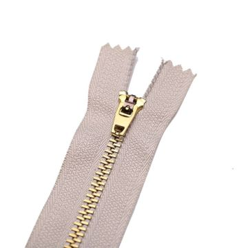 Unique ykk brass zippers for garment wholesale