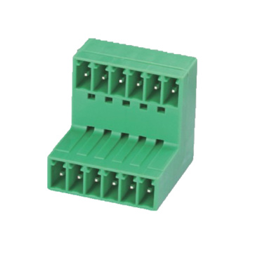 Plug-in Terminal  Block Right-Angle Pitch:3.5/3.81