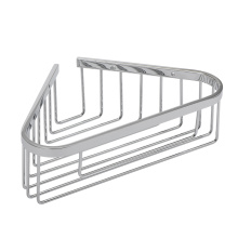 China New Product for Modern Stainless Steel Bathroom Pendants Bathroom Stainless steel Corner Soap Basket Shelf supply to Cape Verde Factory