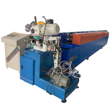 Square rain water down pipe roll forming machine