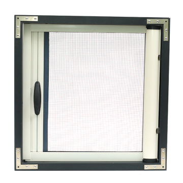 Retractable window with aluminum frame 0916
