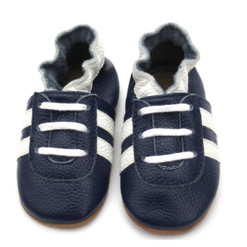 Fancy Wholesale Handmade Genuine Leather Baby Shoes