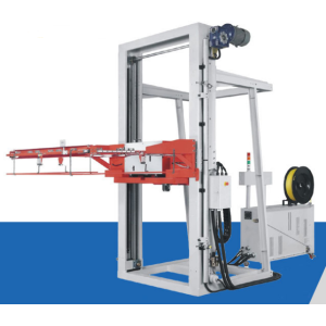 Fully automatic horizontal pallet strapping machine