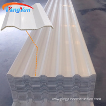 heat resistant plastic roof hollow PVC roof tile