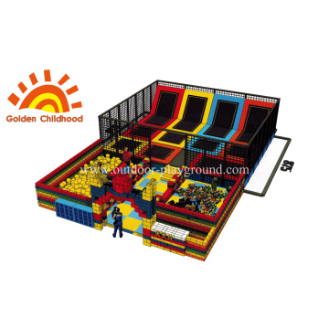 Indoor Commercial Gymnastic Rectangular Trampoline