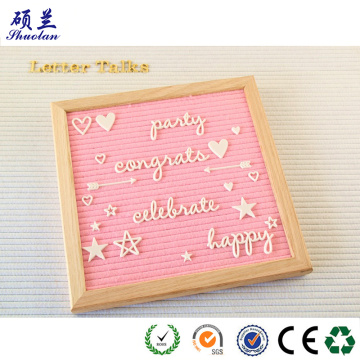 Hot sale good quality felt letter board