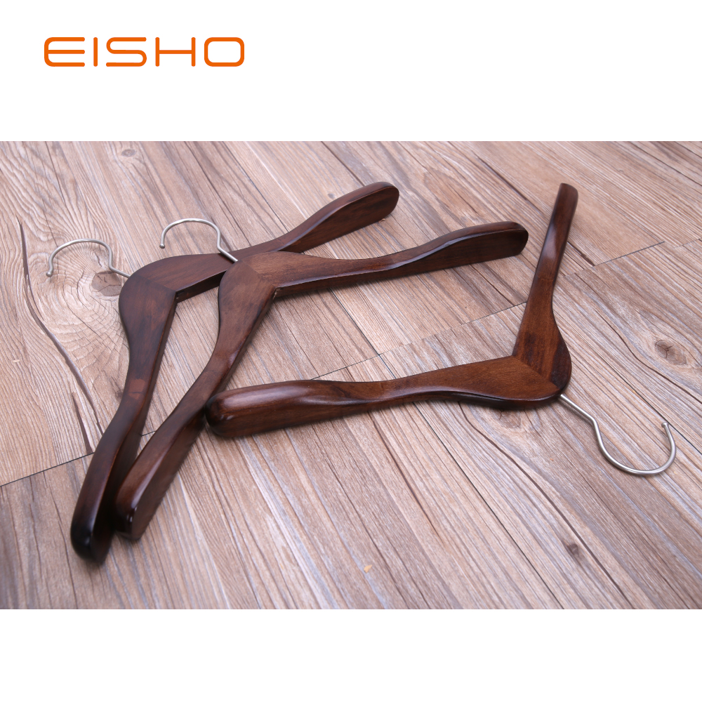 EISHO Boutique Clothing Garment Wooden Hanger