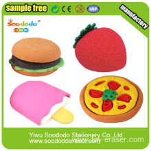 Promotional Food Shapes Pencil Erasers