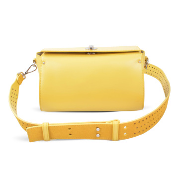 Yellow Pouch Handbag Ropin West Cross-body Bag