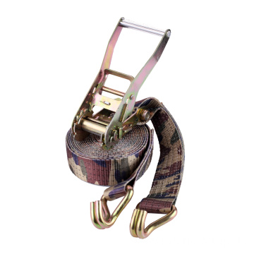 "2"" 50mm Ratchet Tie Down With Colorful Sling"