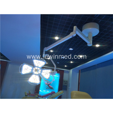 Ceiling mounted single dome flower OT lamp
