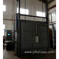 Precision trolley annealing furnace