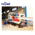 Wide application drum chipper wood