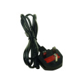 2pin uk cord main power lead cable
