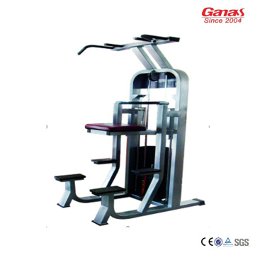 China for China Heavy Duty Gym Machine,Hotel Gym Device Home Gym Equipment Manufacturer Commercial Gym Fitness Machine Dip Chin Assist supply to Russian Federation Factories