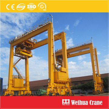 Gummi Tyried Gantry Crane