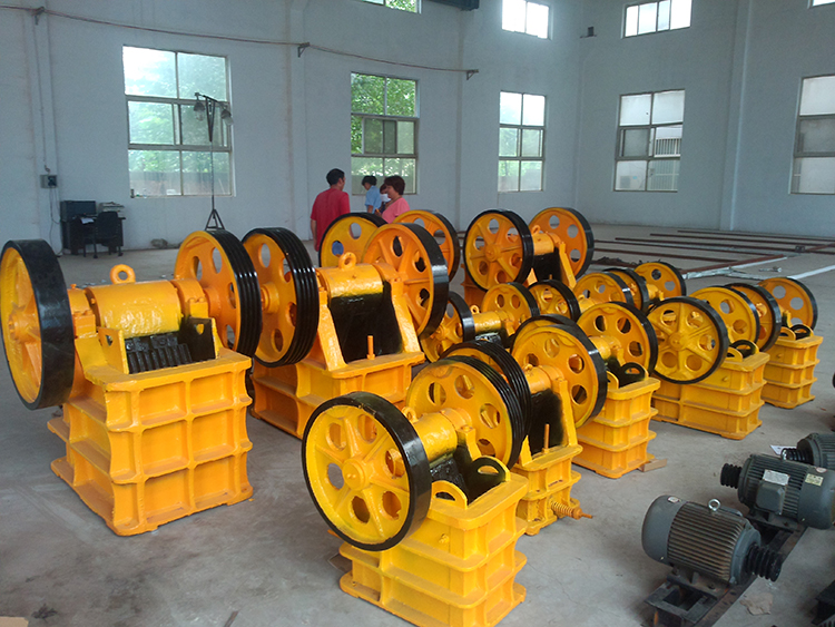 Jaw Crusher picture machine