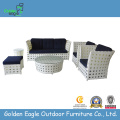 Outdoor garden furniture wicker sofa bed