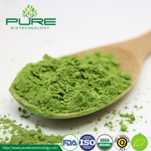 Organic matcha green tea powder for ice cream