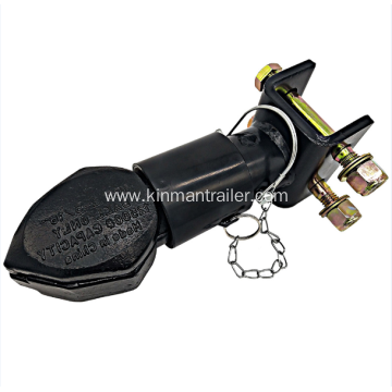 adjustable height trailer coupler