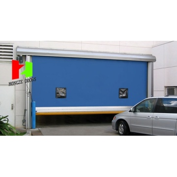 PVC Fabric lifting Rolling folding up Gate Gate