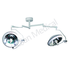 China for Double Dome Ceiling Operating Light dual head halogen medical lamp for hospital supply to Niger Wholesale