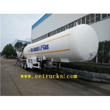 factory low price Used for 3 Axles LPG Tank Trailers 49cbm 25ton Liquid Ammonia Tanker Semi Trailers export to Turks and Caicos Islands Suppliers