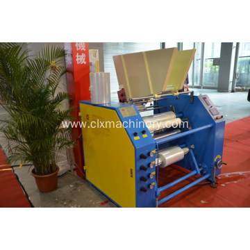 High Speed Fully Automatic Stretch Film Rewinder