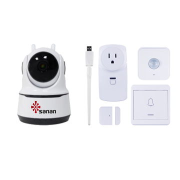 smart home security camera system 1080P