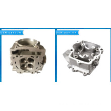 Short Lead Time for Aluminum Alloy Gravity Casting Parts High Quality OEM Casting Head Cylinder export to Congo Factory