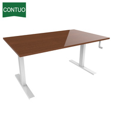 10 Years for Desk With Hand Crank Hand Crank Stand Up Manual Crank Adjustable Desk export to Nicaragua Factory