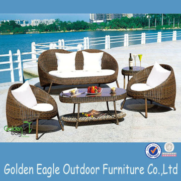 Leisure Furniture Bistro Rattan Wicker Bar Set