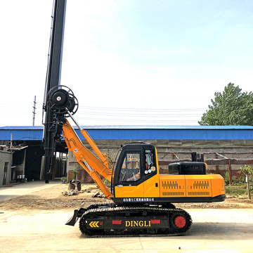 Mini Hydraulic Screw Pile Rig Equipment