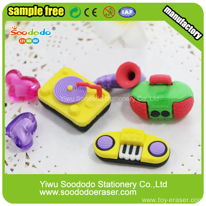Pingyang SOODODO 3D Fancy Green Dragonfly Shaped Eraser