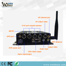 4chs 1080P 4G GPS MDVR With GPS