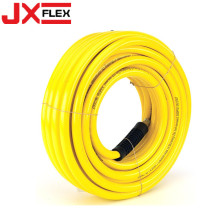 Yellow Rubber PVC Air Hose With NPT Fittings