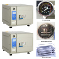 Class B pulsating vacuum tabletop steam sterilizer
