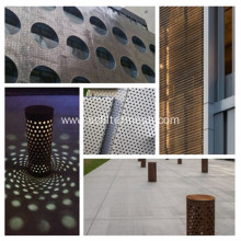 PVC Spray Perforated Metal Screen