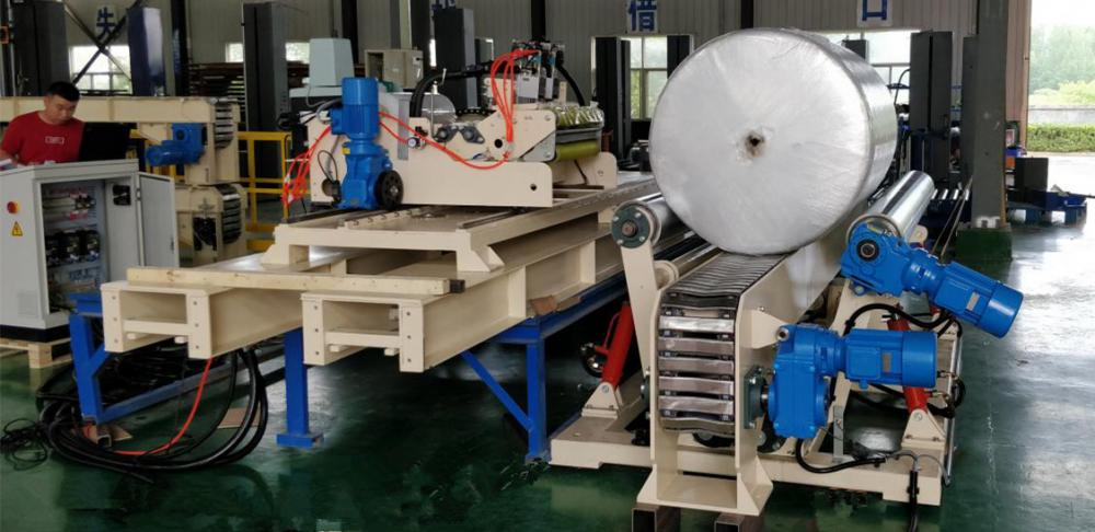 Hydraulic Lift Roller Device And Automatic Wrapper