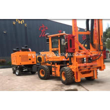 Tractor-mounted Barriers Installation Machine