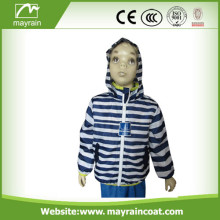 Kid' s Polyester Long Jacket Raincoat