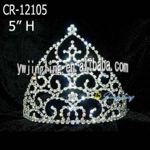 New Fashion Hair Jewelry Rhinestone Crown