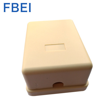 RJ11/12 6P4C Telephone Dual port Sarface box