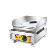 electric stainless steel  flat pan griddle