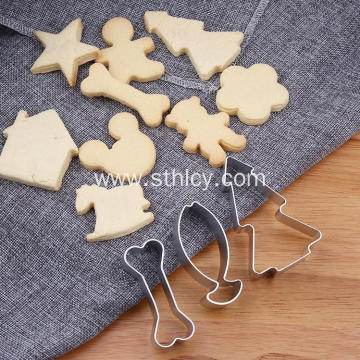 Stainless Steel Cookie Mold Set
